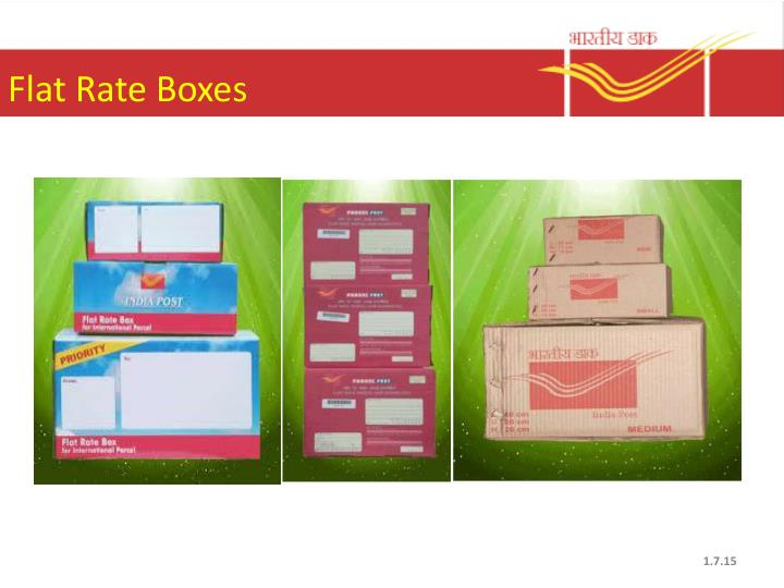 Flat Rate Boxes
