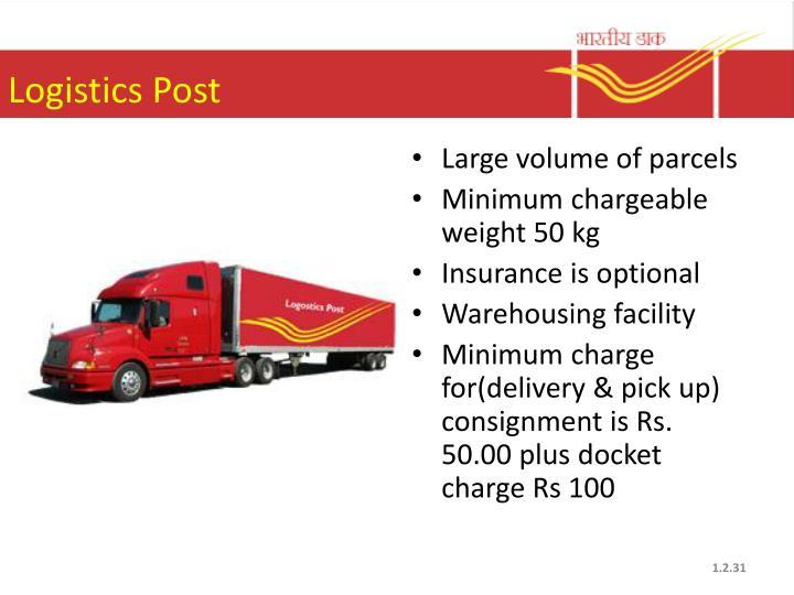 Logistics Post