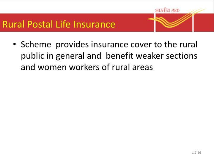 Rural Postal Life Insurance