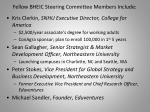 fellow bheic steering committee members include
