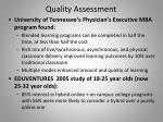 quality assessment1