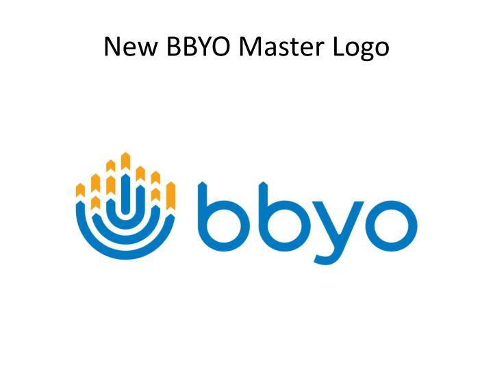 New BBYO Master Logo