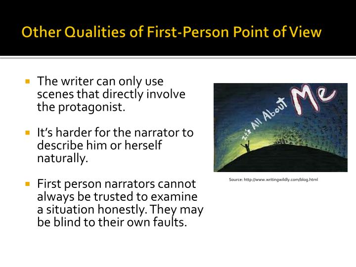 effects of first person narration on Whereas present-tense narration was once rare,  it took a great leap of faith to reset everything in the first person and in the present tense.