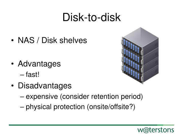 Disk-to-disk