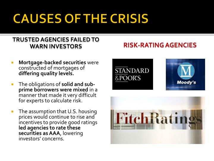 RISK-RATING AGENCIES