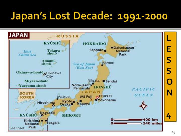 Japan's Lost Decade:  1991-2000