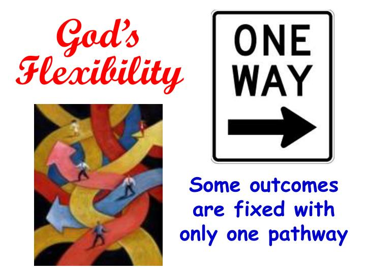 God's Flexibility