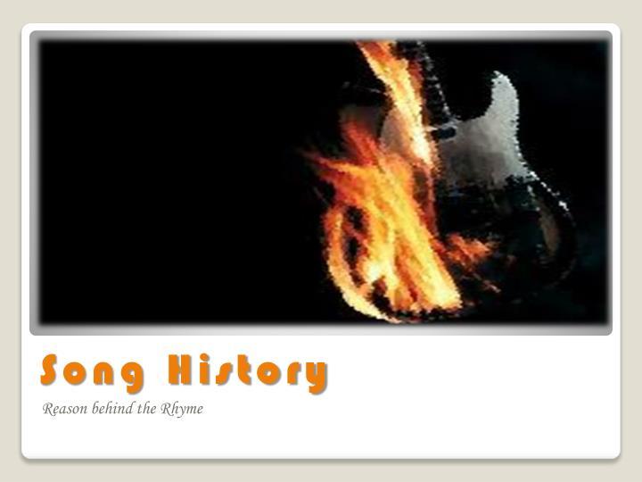 Song History