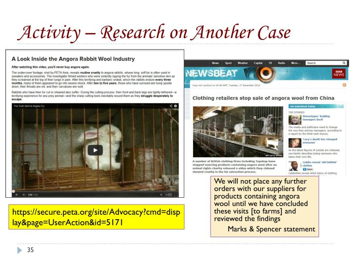Activity – Research on Another Case