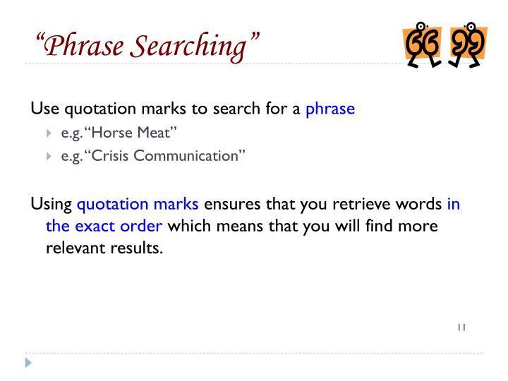 """""""Phrase"""