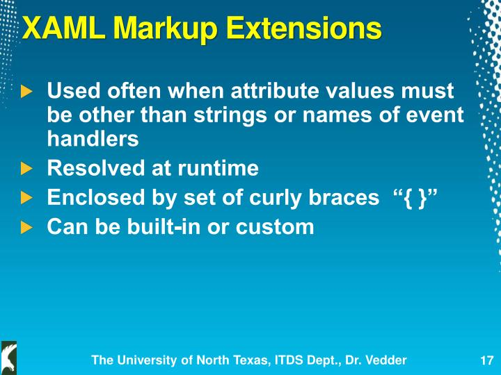 XAML Markup Extensions