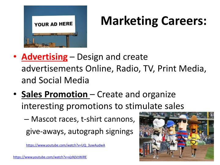 Marketing Careers:
