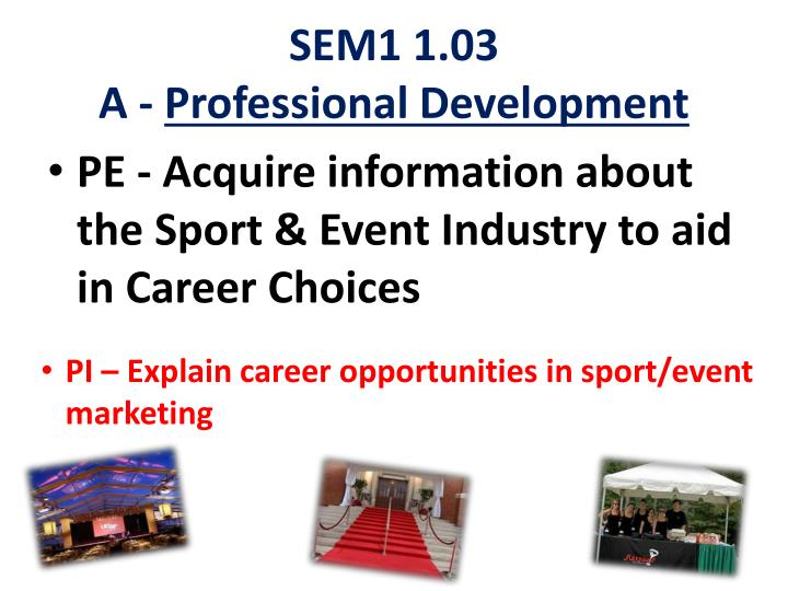 Sem1 1 03 a professional development