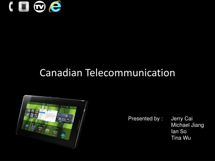 Canadian Telecommunication