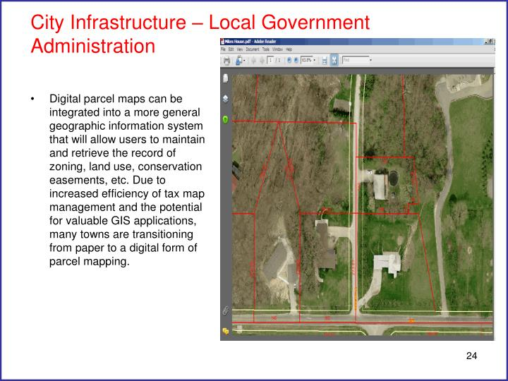 City Infrastructure – Local Government Administration
