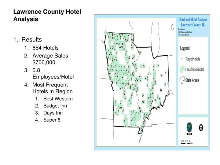 Lawrence County Hotel Analysis