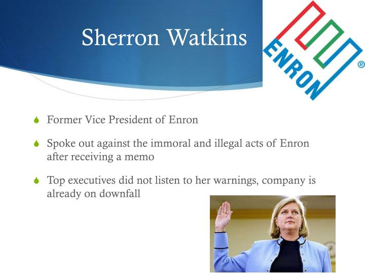 how did the enron company violate accounting standards