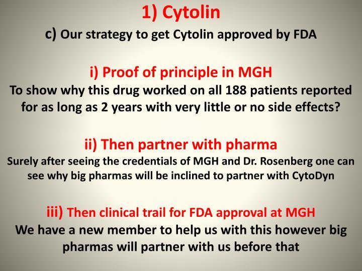 1) Cytolin