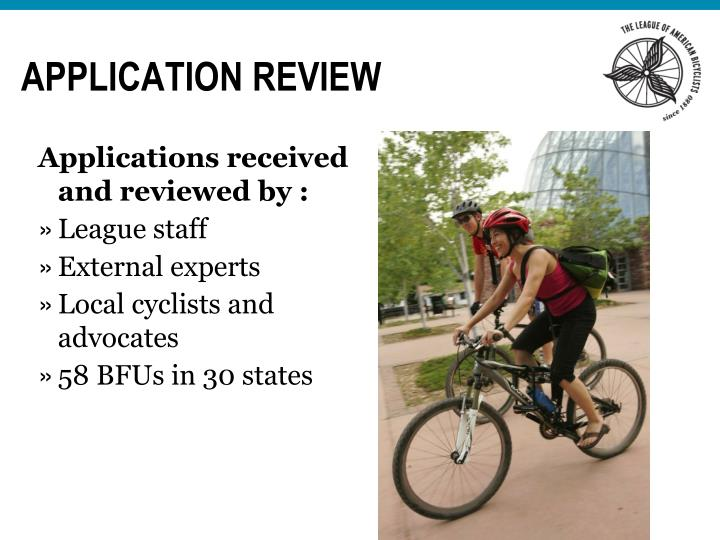 Application review