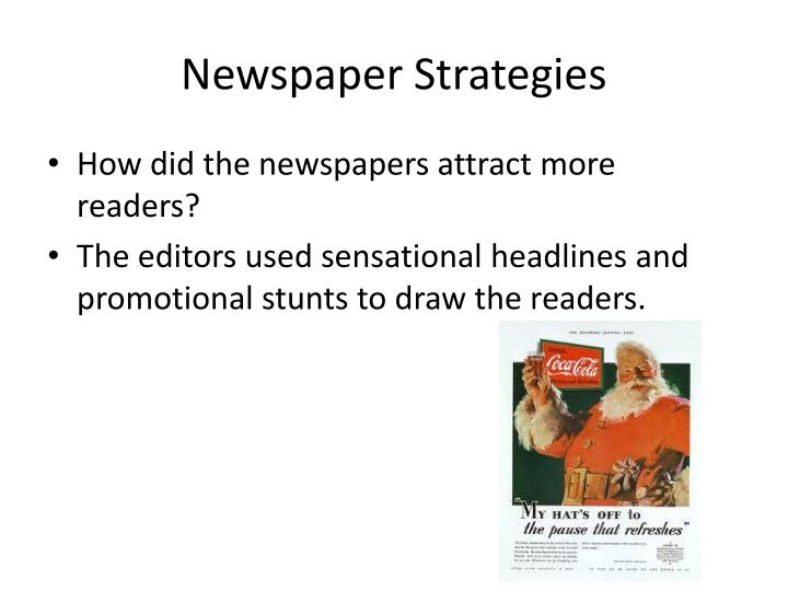 Newspaper strategies