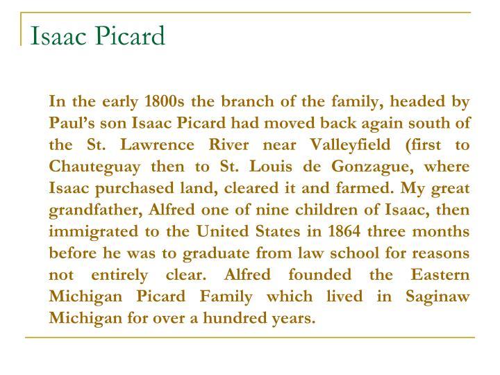 Isaac Picard