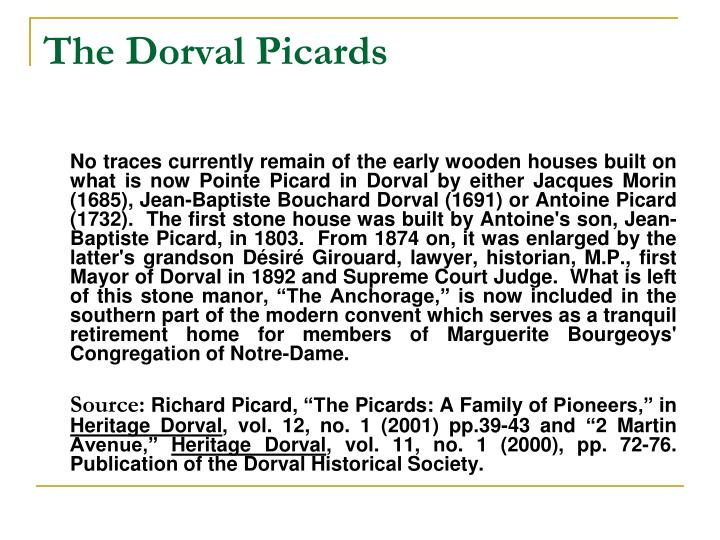 The Dorval Picards