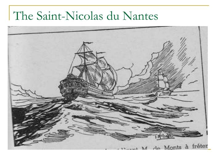 The Saint-Nicolas du Nantes