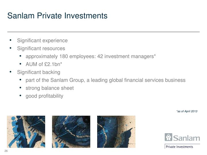Sanlam Private Investments