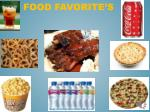 food favorite s