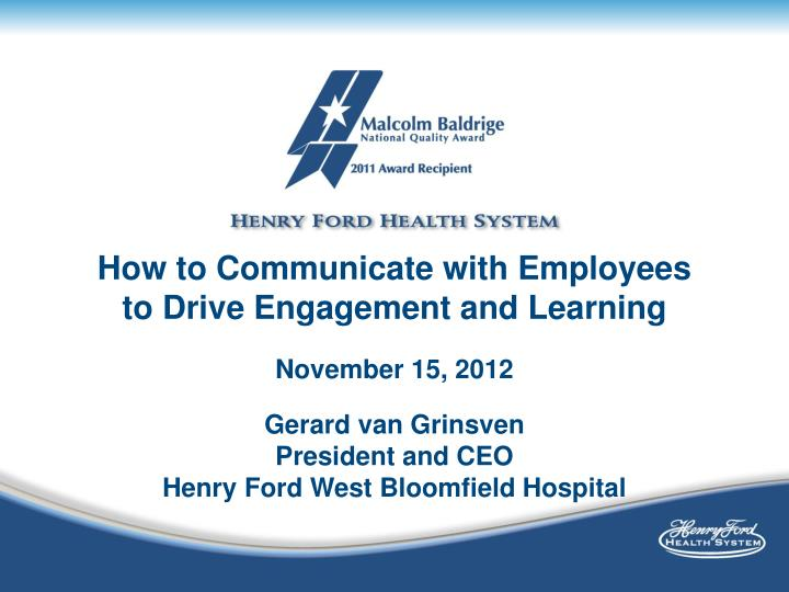 How to Communicate with Employees to Drive Engagement and Learning