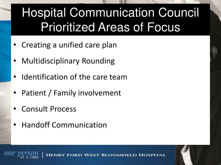 Hospital Communication Council