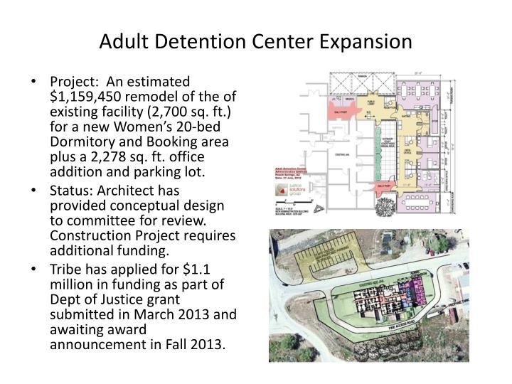 Adult Detention Center Expansion