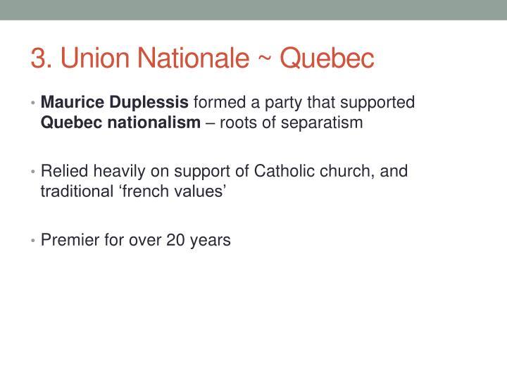 3. Union