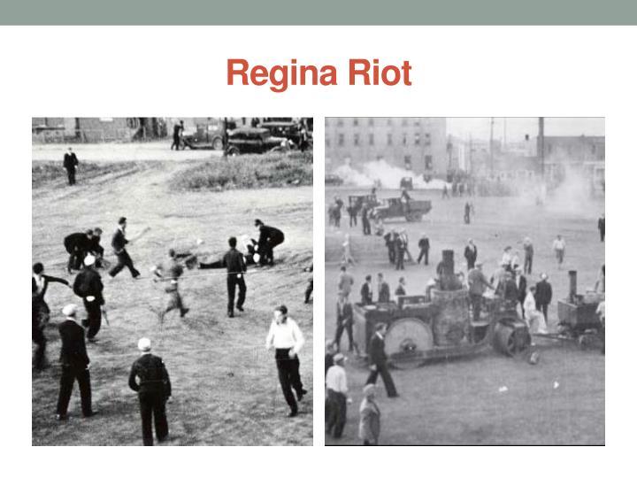 Regina Riot
