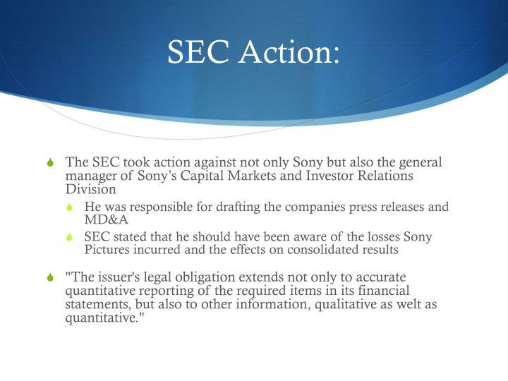 SEC Action