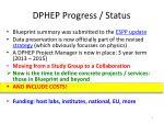 dphep progress status1