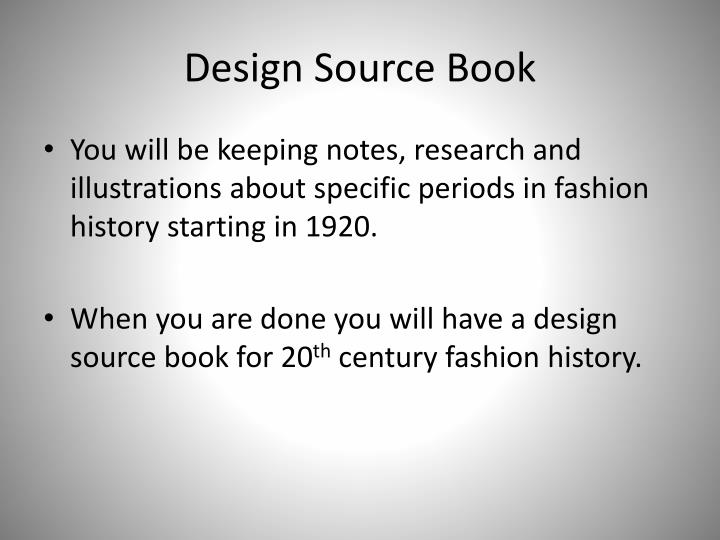 Design Source Book