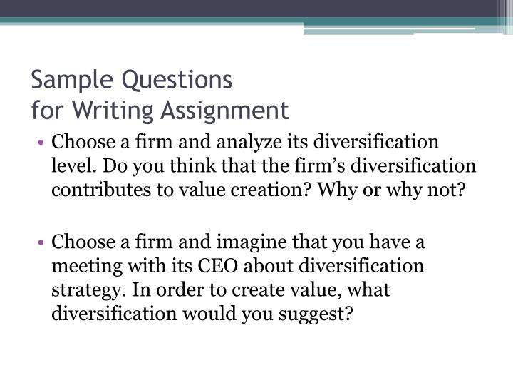 Related linked diversification strategy example