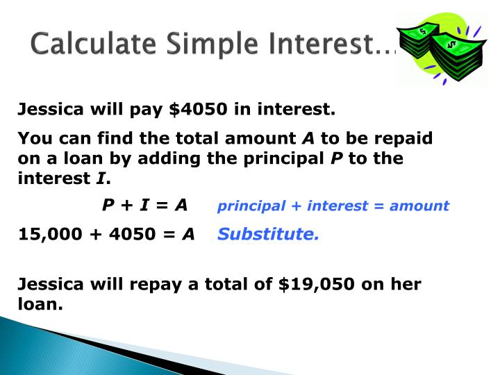 Calculate Simple Interest…