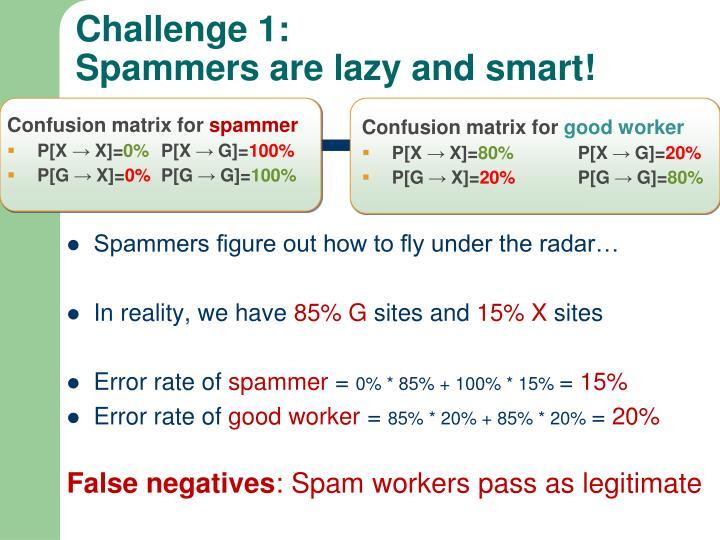 Challenge 1: