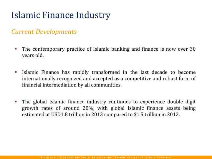 Islamic Finance Industry