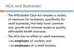aca and businesses1