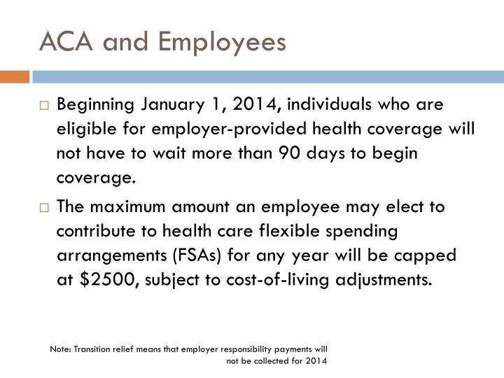 ACA and Employees