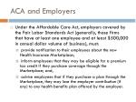 aca and employers