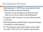 aca employer provisions1