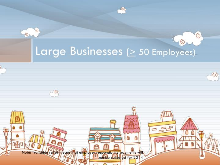 Large Businesses
