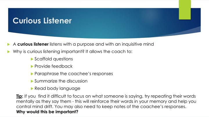 Curious Listener
