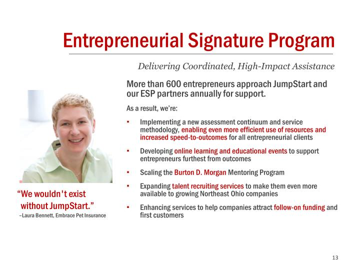 Entrepreneurial Signature Program
