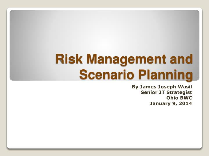 Risk Management and