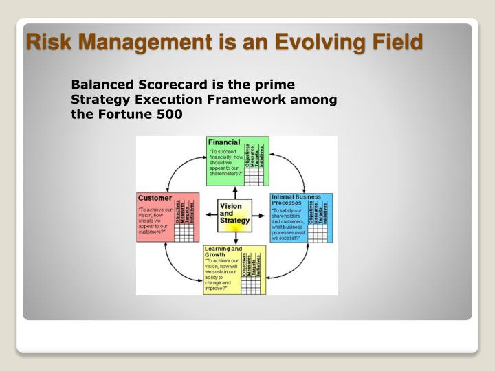 Balanced Scorecard is the prime Strategy Execution Framework among the Fortune 500